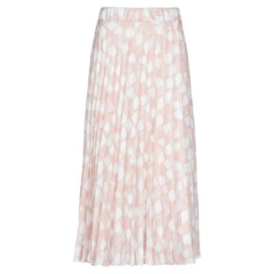 MR MASSIMO REBECCHI 7分丈スカート ローズピンク XS ポリエステル 100% 7分丈スカート
