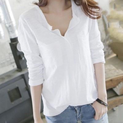 40代ホワイト長袖黒トップス2色シフォン上品カジュアルシャツ大人2019オシャレ
