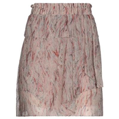 イロ IRO ミニスカート ベージュ 42 ポリエステル 55% / 金属繊維 45% ミニスカート