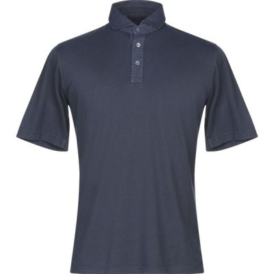 フェデーリ FEDELI メンズ ポロシャツ トップス polo shirt Dark blue