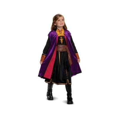 アナと雪の女王 アナ雪 2 アナ ドレス 子供 コスチューム デラックス 衣装 コスプレ ディズニー公式