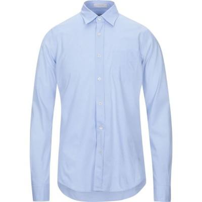 ロイロジャース ROY ROGER'S メンズ シャツ トップス solid color shirt Sky blue
