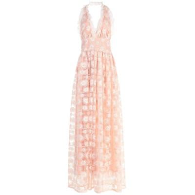 NORA BARTH ロングワンピース&ドレス ピンク 44 ポリエステル 100% ロングワンピース&ドレス