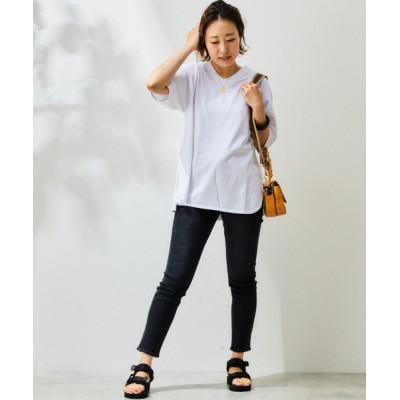 tシャツ Tシャツ ハイソフトUネックプルオバー