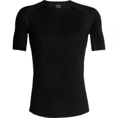 アイスブレーカー Icebreaker メンズ トップス 150 Zone Short - Sleeve Crew Shirt Black