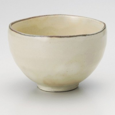 業務用食器 姫粉引いっぷく碗 9.8×6.5cm・300cc 煎茶