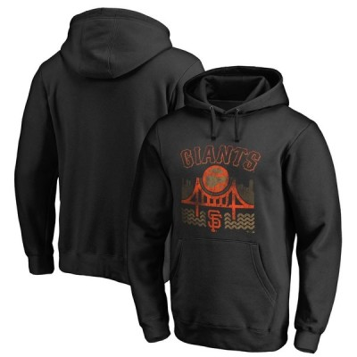 サンフランシスコ・ジャイアンツ Fanatics Branded Big & Tall The Bay Hometown Collection Pullover Hoodie - Black