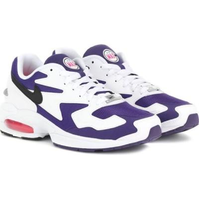 ナイキ Nike レディース スニーカー シューズ・靴 air max2 light sneakers White/Black