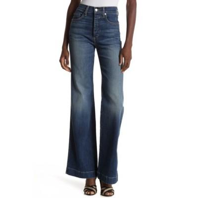 ヴェロニカ ベアード レディース デニムパンツ ボトムス Pamela High Waisted Wide Leg Jeans WRIGLEY