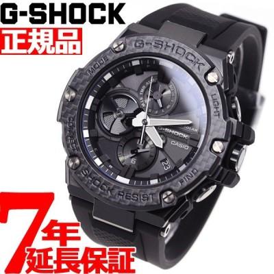 店内ポイント最大27倍! Gショック Gスチール G-SHOCK G-STEEL ソーラー 腕時計 メンズ GST-B100X-1AJF