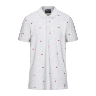 スコッチ&ソーダ SCOTCH & SODA ポロシャツ ライトグレー M コットン 100% ポロシャツ