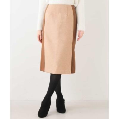 OFUON / 異素材ナロースカート WOMEN スカート > スカート