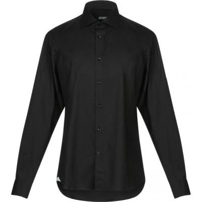 アウトフィット OUTFIT メンズ シャツ トップス solid color shirt Black
