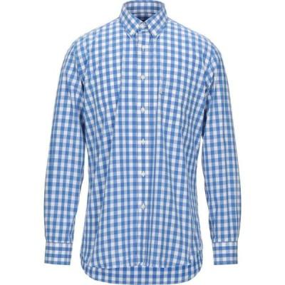 バブアー BARBOUR メンズ シャツ トップス checked shirt Blue