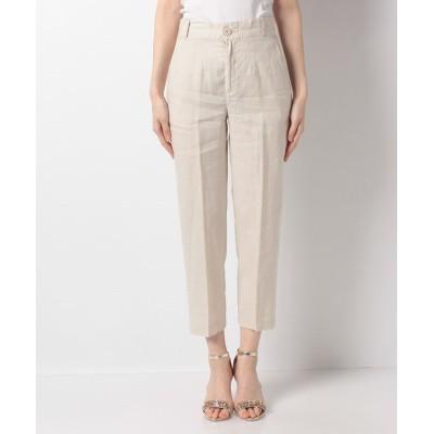 (BENETTON (women)/ベネトン レディース)リネントラウザー型パンツ/レディース オフホワイト