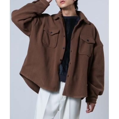 WEGO / WEGO/ボアCPOシャツ MEN ジャケット/アウター > ブルゾン
