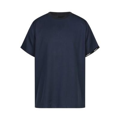ヌメロ NUMERO 00 T シャツ ブルーグレー XL テンセル 100% T シャツ
