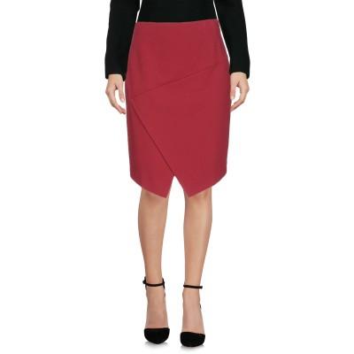ピンコ PINKO ひざ丈スカート ボルドー 40 レーヨン 60% / ナイロン 35% / ポリウレタン 5% ひざ丈スカート