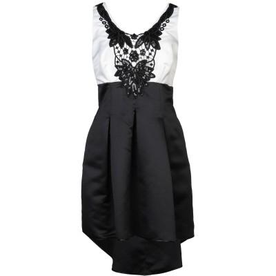 LANACAPRINA ミニワンピース&ドレス ホワイト 50 ポリエステル 80% / コットン 20% ミニワンピース&ドレス