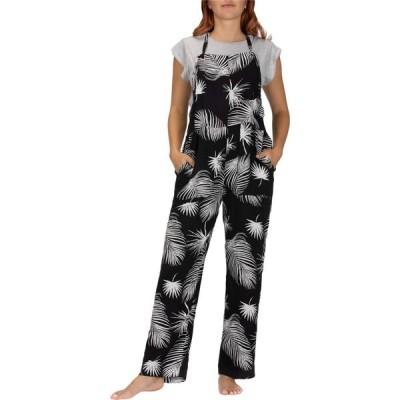 ハーレー Hurley レディース オールインワン ジャンプスーツ ワンピース・ドレス Mellow Jumpsuit Black/Palm