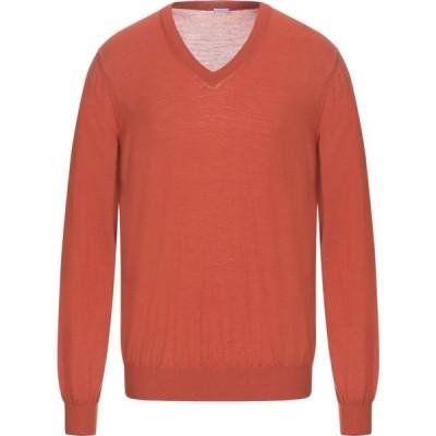 マーロ MALO メンズ ニット・セーター トップス sweater Rust