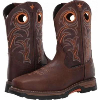 ダンポスト Dan Post メンズ シューズ・靴 Storms Eye Waterproof Composite Toe EH Brown/Orange