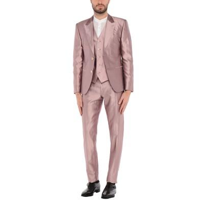 ドルチェ & ガッバーナ DOLCE & GABBANA スーツ パステルピンク 44 シルク 100% スーツ