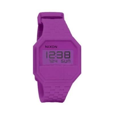 腕時計 ニクソン アメリカ 882902515338 Nixon Rubber Re-Run Watch Rhodo, One Size