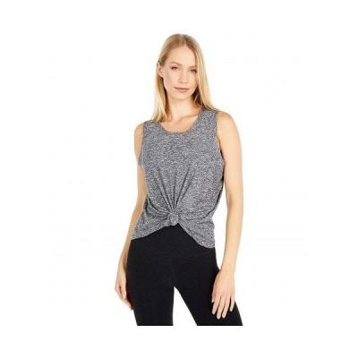 Beyond Yoga ビヨンドヨガ レディース 女性用 ファッション アクティブシャツ Balanced Muscle Tank - Black/White