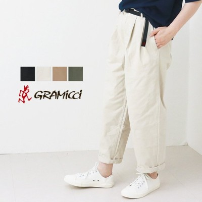 グラミチ GRAMICCI グルカパンツ/GURKHA PANTS GLP-21S078 2021春夏 タックパンツ ミリタリー アンクル丈 レディース
