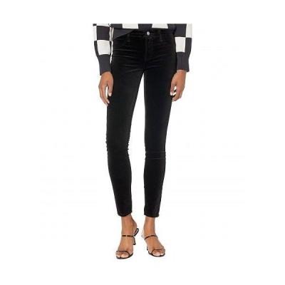 J Brand ジェイブランド レディース 女性用 ファッション ジーンズ デニム 815 Mid-Rise Super Skinny in Black - Black