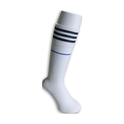 オリジナルサッカーストッキング 白×青 sk-sc-socks-ralh1213