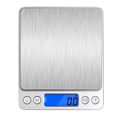 Honana HN-MS1 2000g 0.1gミニマルチユニット変換デジタル電子キッチンスケールポケットジュエリー