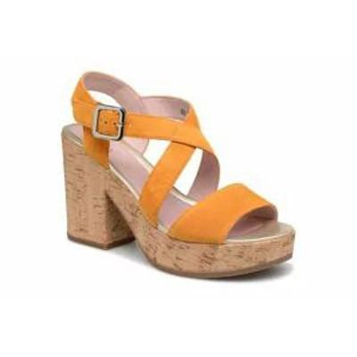 Stonefly レディースサンダル Stonefly Sandals Carol 4 Yellow Sunflower