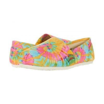 Esprit エスプリット レディース 女性用 シューズ 靴 ローファー ボートシューズ Toso - Rainbow Tie-Dye