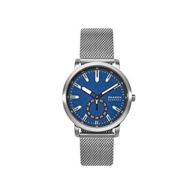 Skagen Men's Quartz Watch with Stainless Steel Strap, Silver, 20 (Model: SKW6610)並行輸入品