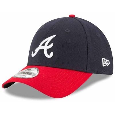 ニューエラ 帽子 メンズ アクセサリー New era MLB The League Atlanta Braves OTC Navy