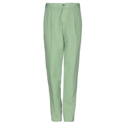 DOPPIAA パンツ ライトグリーン 50 コットン 65% / 麻 35% パンツ