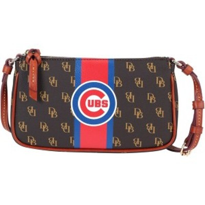 ドゥーニー&バーク レディース ハンドバッグ バッグ Chicago Cubs Dooney & Bourke Women's Stadium Signature Lexi Crossbody Purse