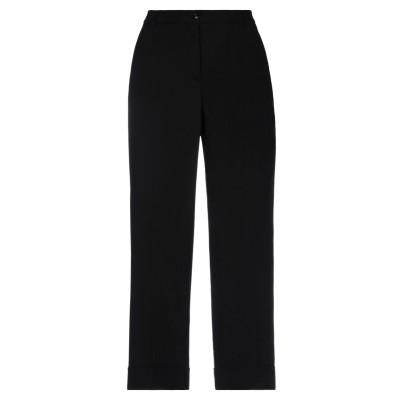 VIA MASINI 80 パンツ ブラック 44 レーヨン 98% / ポリウレタン 2% パンツ