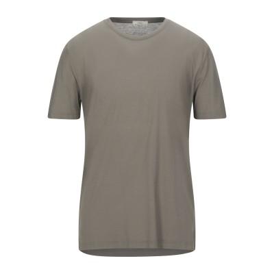 ABKOST T シャツ カーキ 52 コットン 100% T シャツ