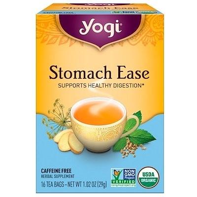 ストマックイーズ(Stomach Ease), カフェインフリー, 16ティーバッグ, 1.02oz (29 g)