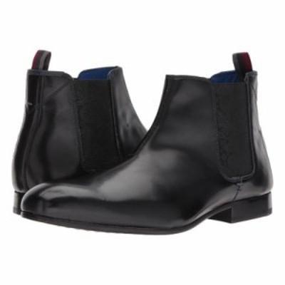 テッドベーカー ブーツ Auldham Black Leather High Shine