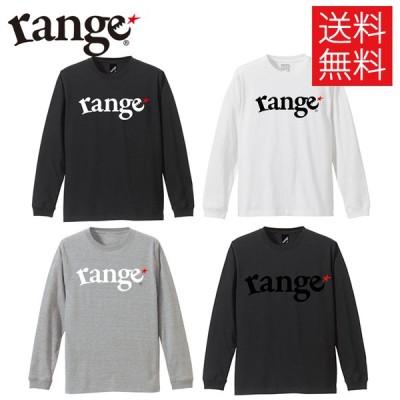 レンジ range logo ロンT ロングスリーブ Tシャツ 長袖 LS Tee