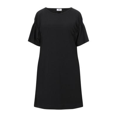 KATE BY LALTRAMODA ミニワンピース&ドレス ブラック I ポリエステル 97% / ポリウレタン 3% ミニワンピース&ドレス