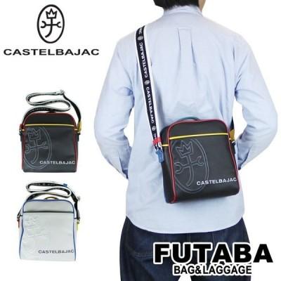 300円OFFクーポン CASTELBAJAC カステルバジャック SHOULDER BAG ショルダーバッグ Linge リーニュ 056122 メンズ レディース