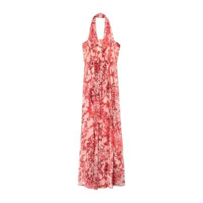マックスマーラ MAX MARA ロングワンピース&ドレス コーラル 38 シルク 100% ロングワンピース&ドレス