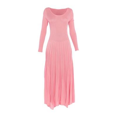 エムエスジーエム MSGM 7分丈ワンピース・ドレス ピンク S レーヨン 60% / コットン 40% 7分丈ワンピース・ドレス