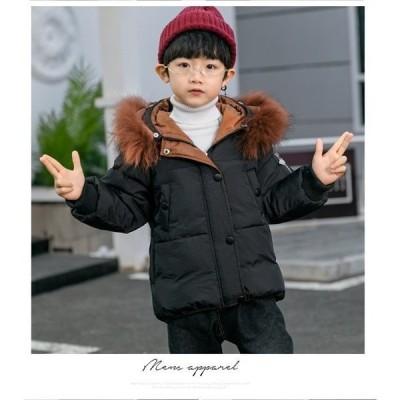 子供服中綿コート男女の子ロング中綿ジャケット防寒ジャケットアウターファーコート暖かいかわいいキッズコート綿入れコートファーコート