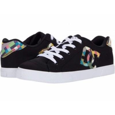 DC ディーシー レディース 女性用 シューズ 靴 スニーカー 運動靴 Chelsea Black/Multi【送料無料】